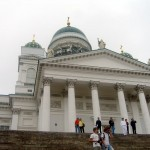 Helsinki Cathedral, cloudy day...