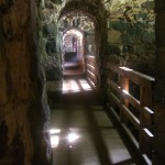 inside the fortifications on suomenlinna island
