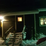 the cottage by night