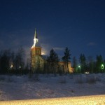sami church in Inari district